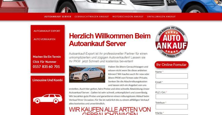 Auto verkaufen Deutschlandweit