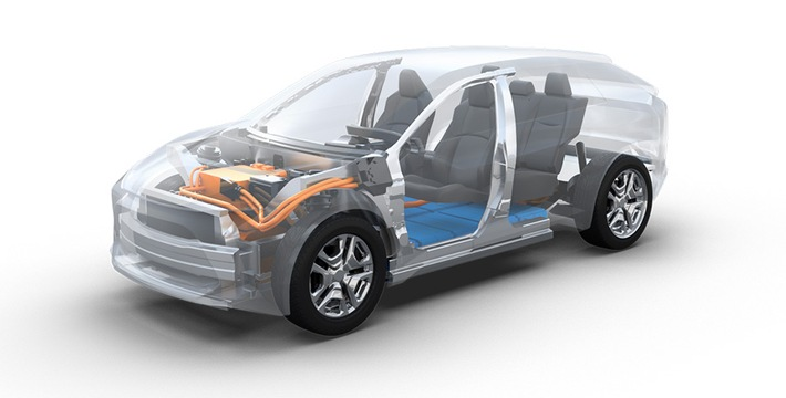 Toyota und Subaru entwickeln Plattform für Elektrofahrzeuge Basis für Limousinen und SUV-Modelle mit Elektroantrieb