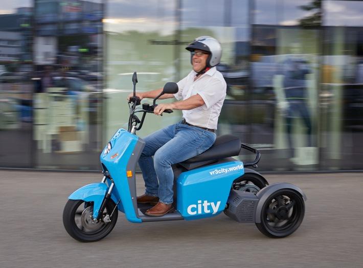 Der neue vR3city von vRbikes – SMART URBAN MOBILITY auf drei Rädern