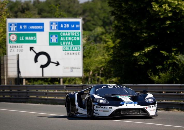 Limitierte Rennsportversion des Ford GT Mk II zeigt nächste Ausbaustufe des Ford GT-Supersportwagens