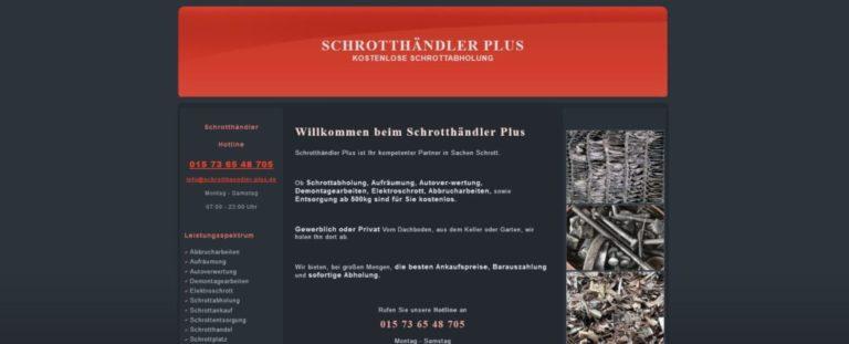 Schrottankauf Köln und Umgebung – Schrotthändler Plus