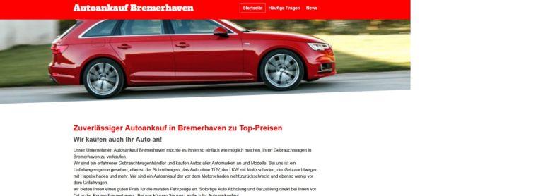 Autoankauf Bremerhaven Wir kaufen Ihr altes Auto