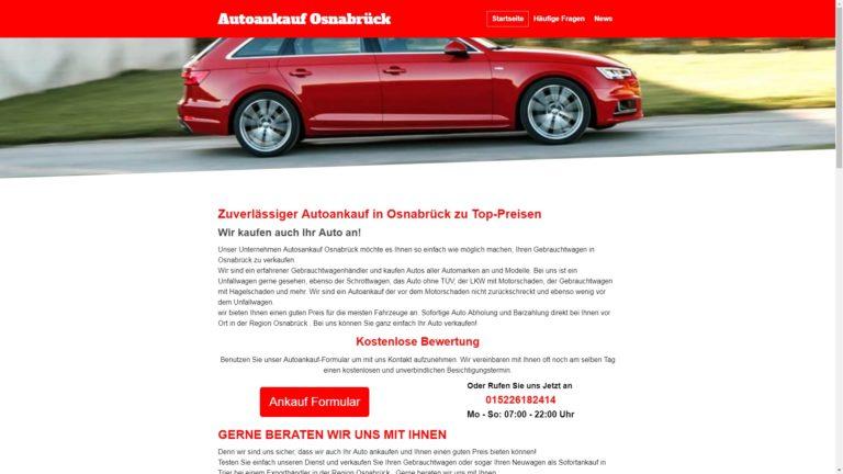 Autoankauf Osnabrück kauf Ihr Gebrauchtwagen zum Top Preis