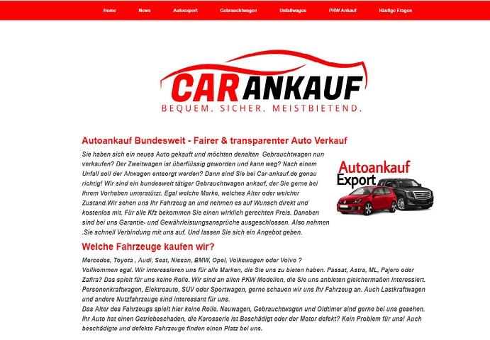 Bundesweite Autoankauf – Fairer & transparenter Auto Verkaufen
