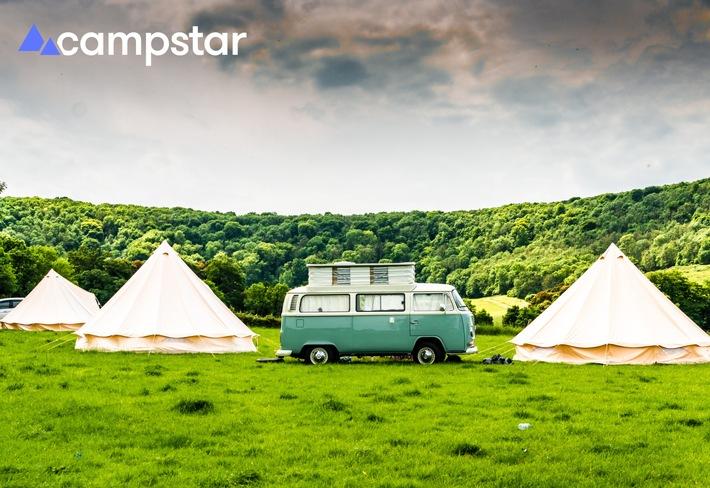 Camping 4.0: Die neue Camping-Suchmaschine Campstar ist ab sofort verfügbar