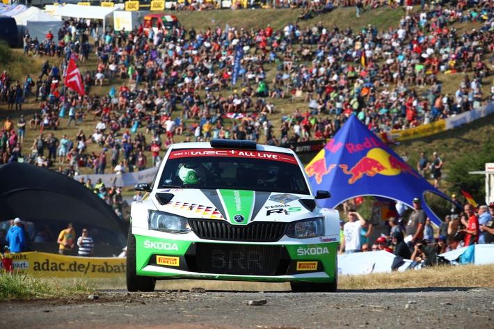 Rallye Deutschland: Piloten Kreim und Griebel fordern die Weltelite heraus