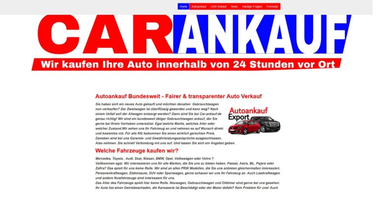 Autoankauf Göppingen – Ersparen Sie sich lästige versuche, um Ihr Fahrzeug über Internetanzeigen zu verkaufen