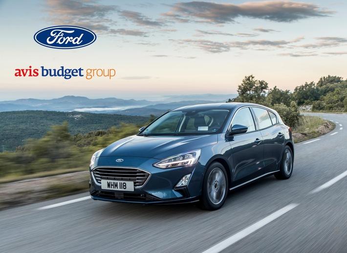 Avis Budget Group und Ford arbeiten in Europa zusammen: Digital vernetzte Fahrzeuge für besseren Vermietungs-Service