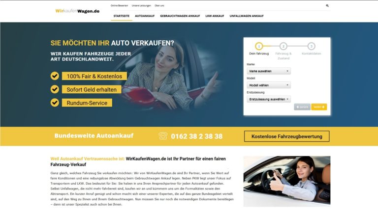 Gebrauchtwagen und Autoankauf in Stuttgart