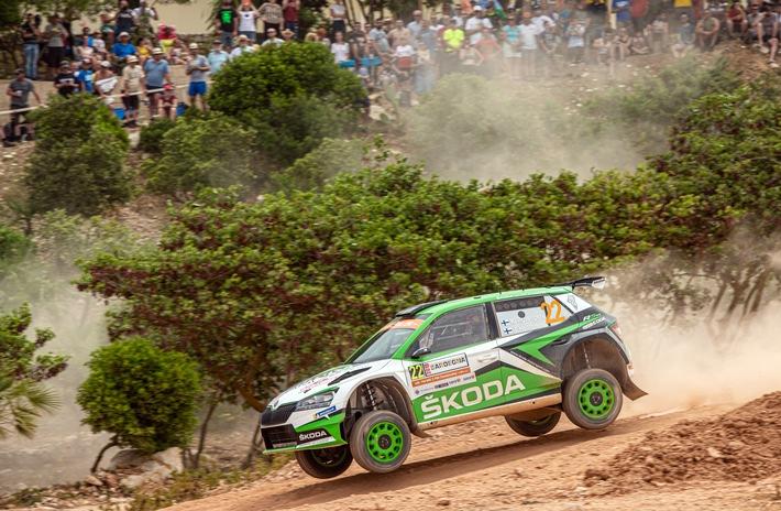 Rallye Türkei Marmaris: Kalle Rovanperä und Jan Kopecky starten im SKODA FABIA R5 evo bei der wohl härtesten Rallye des Jahres