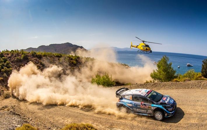 WM-Rallye Türkei: Platz vier für Ford Fiesta WRC-Pilot Teemu Suninen, WRC2 Pro-Klassensieg für Gus Greensmith