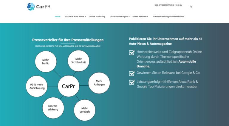 Online Marketing für Autohändler | Kontakt zum Autohändler
