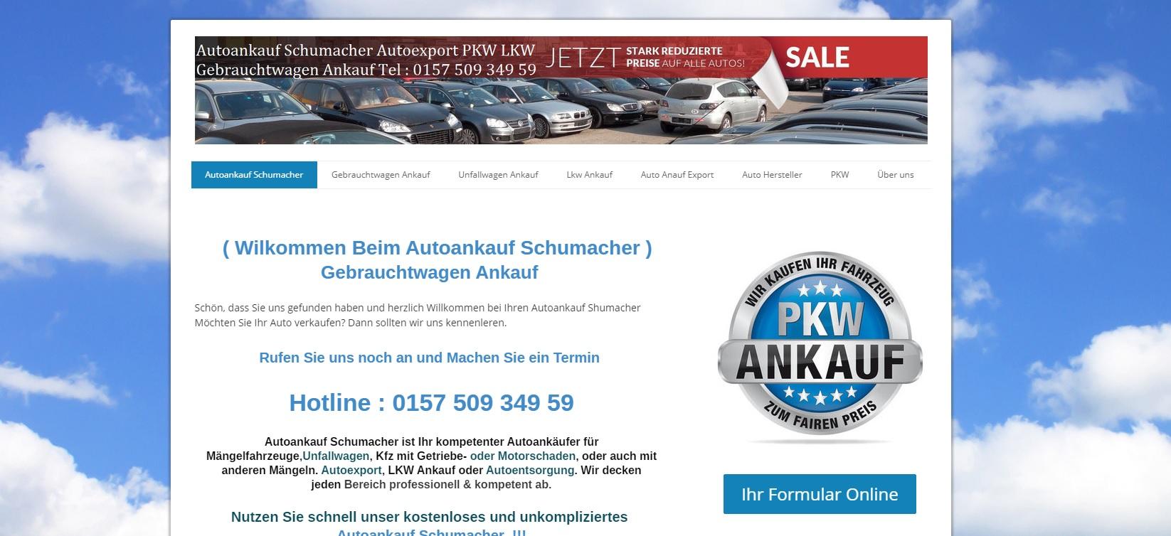 autoankauf-schumacher.de - Autoankauf Reutlingen