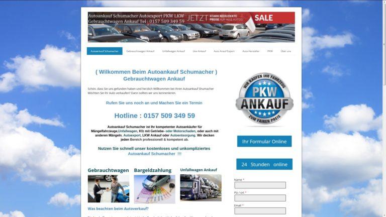 Autoankauf Schweinfurt – Autoankauf mit Schaden – Ankauf von Gebrauchtwagen mit Motorschaden
