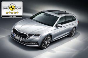 Neuer SKODA OCTAVIA erzielt fünf Sterne im Euro NCAP-Test