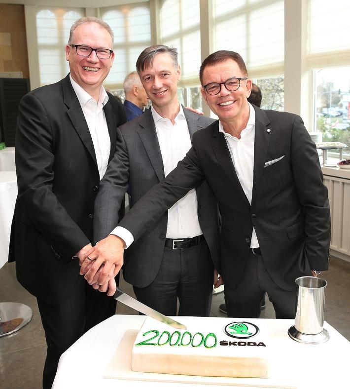 SKODA erzielt 2019 in Deutschland mit über 200.000 Fahrzeugen neuen Zulassungsrekord und startet erfolgreich in die Elektro-Ära