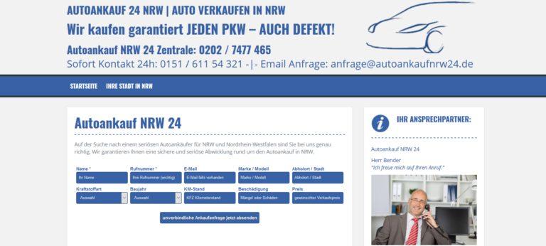 Auto fair und unkompliziert verkaufen in NRW
