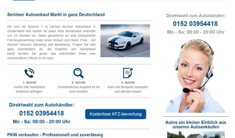 Autoankauf   PKW verkaufen – Professionell und zuverlässig