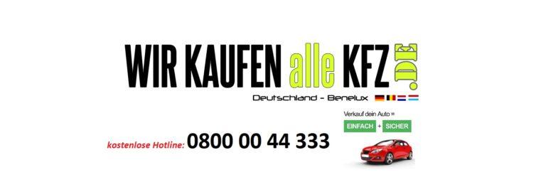KFZ-Ankauf Aachen, ab März 2020 tägliche Fahrzeugabholung in Aachen!