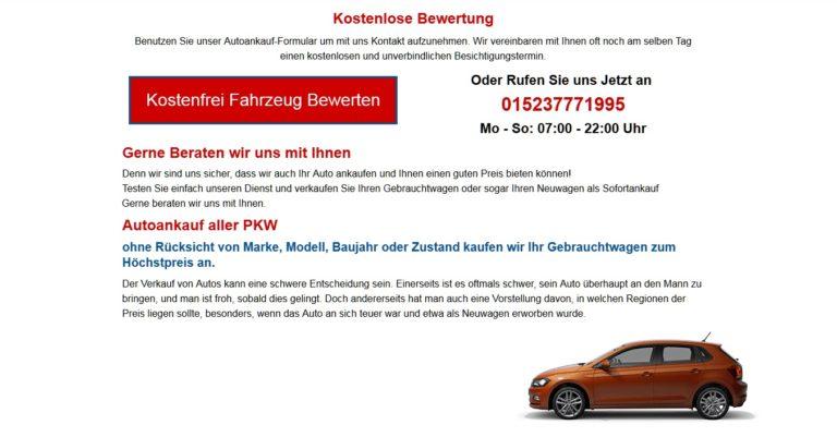 Autoankauf Kiel :  Gebrauchtwagen-Ankauf in Kiel