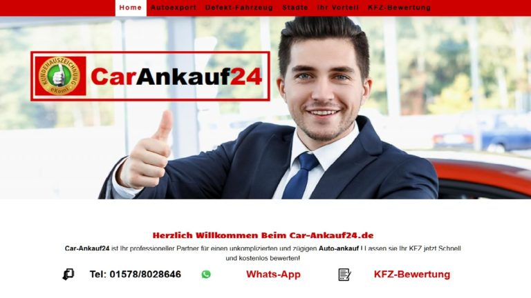 Automobile Ankauf Warendorf-Gebrauchtwagenankauf in Warendorf Durch Car-Ankauf24