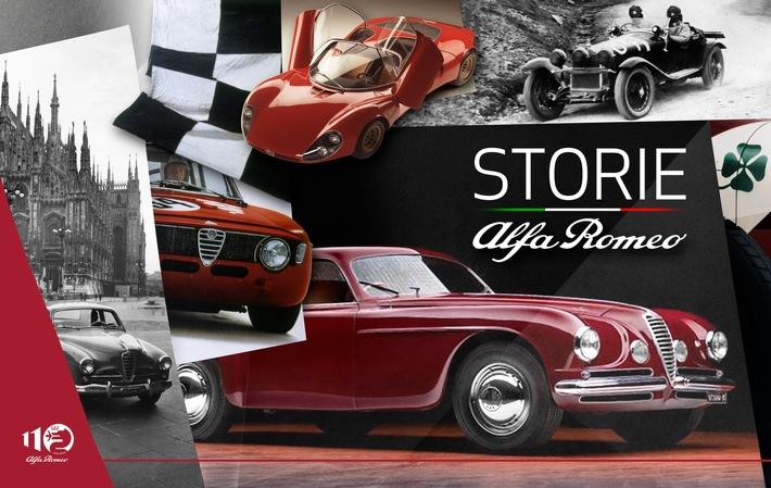 """""""Storie Alfa Romeo""""- die Historie der italienischen Ikone aus der Sicht von Insidern"""