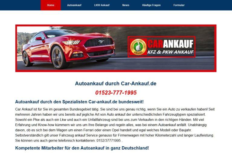Verkaufen Sie ihr Auto zum Fairen Preis