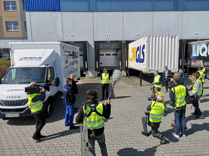 Logistik ganz oben auf der Agenda / Tag der Logistik im Internet erzielt hohe Reichweiten