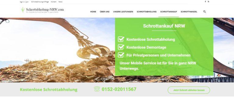 Der Schrottankauf Gelsenkirchen kauft Ihren Metall- und Elektroschrott an