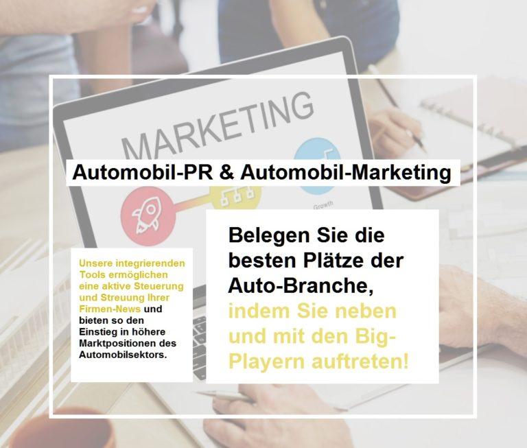 Automobilmarketing erfolgreiche Strategie für ihr Unternehmen