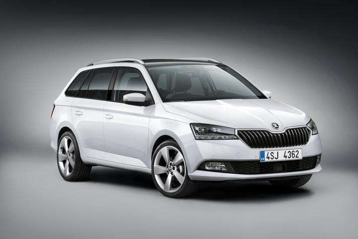 Jetzt mit 1,0 MPI 44 kW (60 PS): SKODA FABIA COMBI bereits ab 14.690 Euro verfügbar