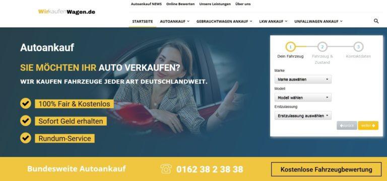 WirKaufenWagen.de: Autoankauf in Köln Sürth seit Langem einen guten Namen verschafft.