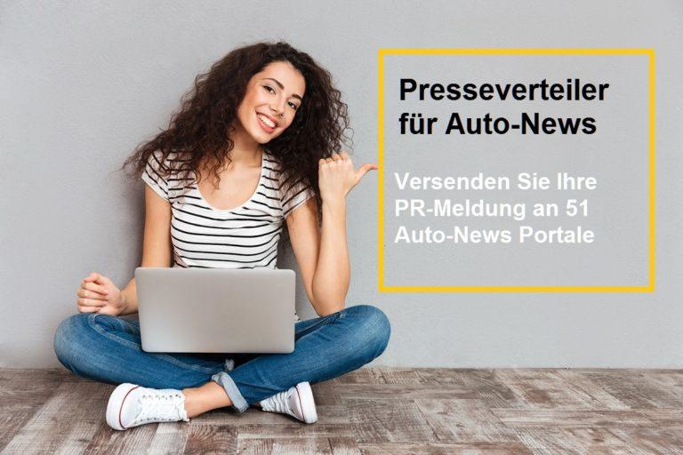 Automobil-Marketing :  Presseverteiler für Auto News
