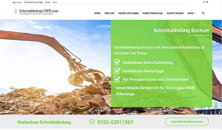 Der Schrottabholung Bochum bietet realistische Preise und unkomplizierte Abläufe