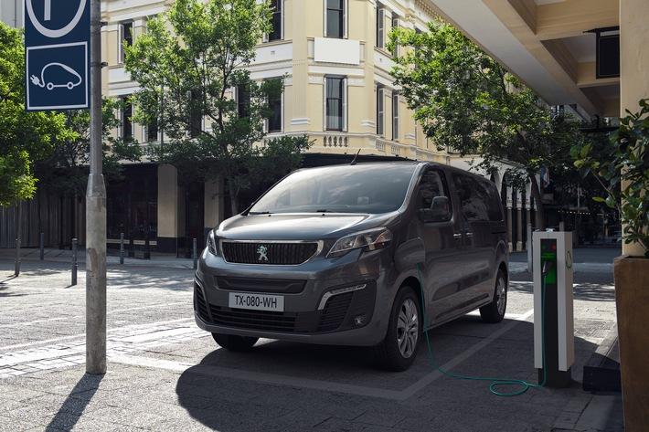 Neuer PEUGEOT e-Traveller(1): PEUGEOT elektrifiziert seinen großen Van