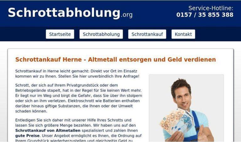 Entsorgung von Metallschrott – Schrottankauf in Herne
