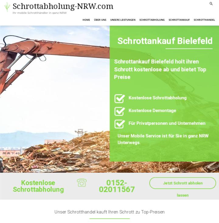 Der Schrottankauf Bielefeld zahlt gutes Geld für Schrott aller Art