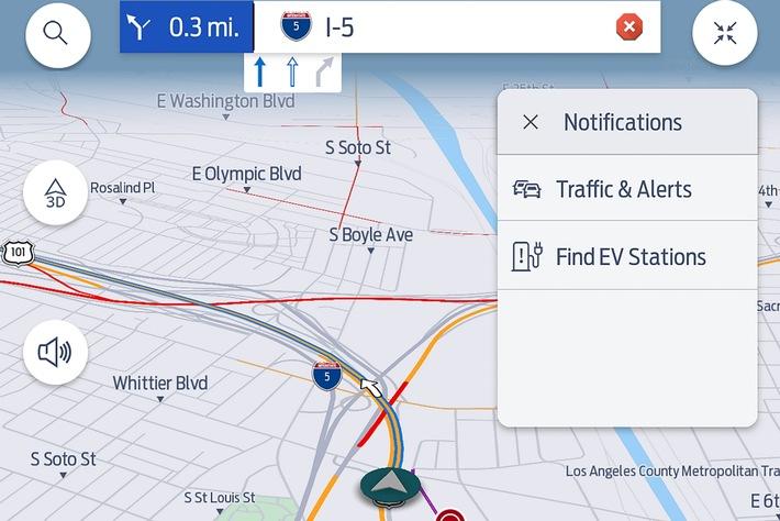 Premium-Dienst für Verkehrsinformationen