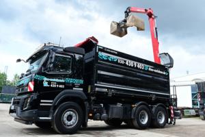 Baustellenabfälle und große Abfallmengen entsorgen