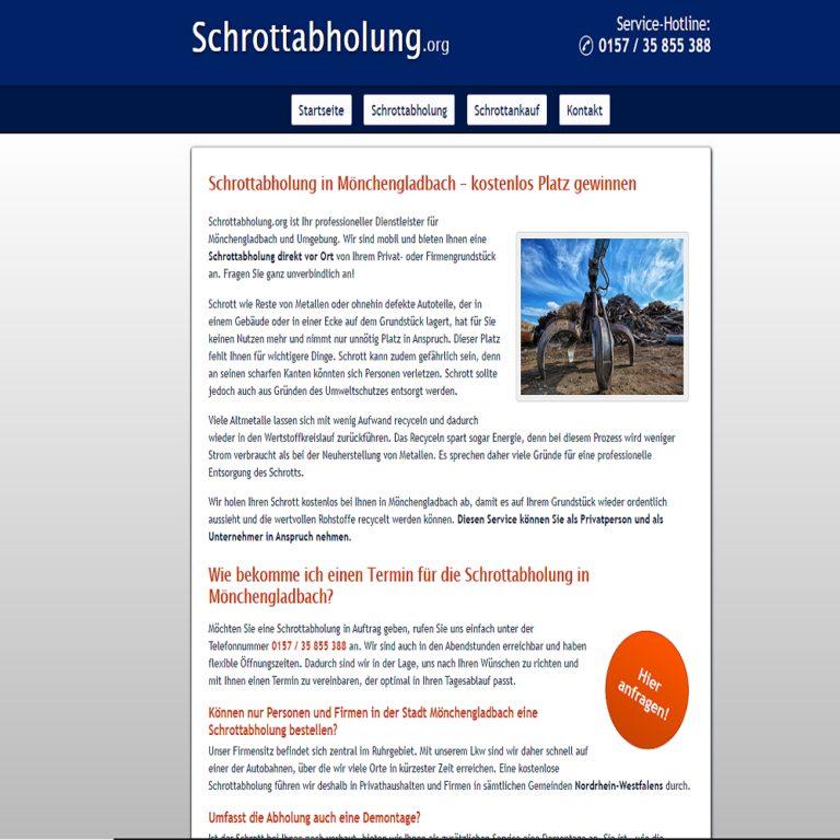 Schrottabholung in Mönchengladbach – ein Team für optimale Lösungen über Schrottabholung.org