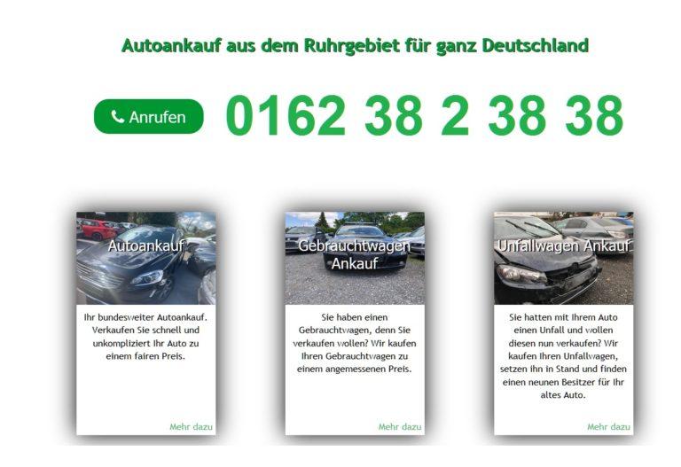 Autoankauf Hamburg: Ankauf von Gebrauchtwagen