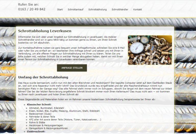 Glockenklang und Musik: eine Tradition beim Abholen von Metall in Leverkusen