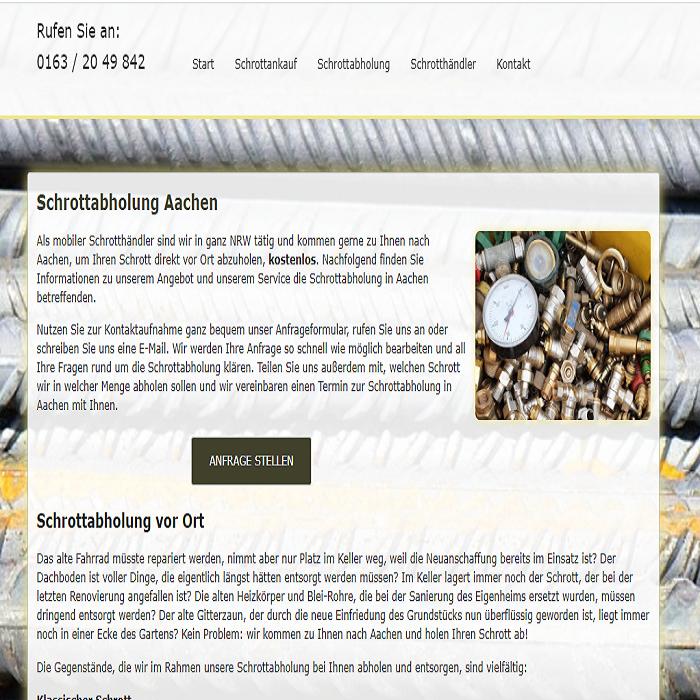 Altmetallabholung Aachen: unkompliziert und fair