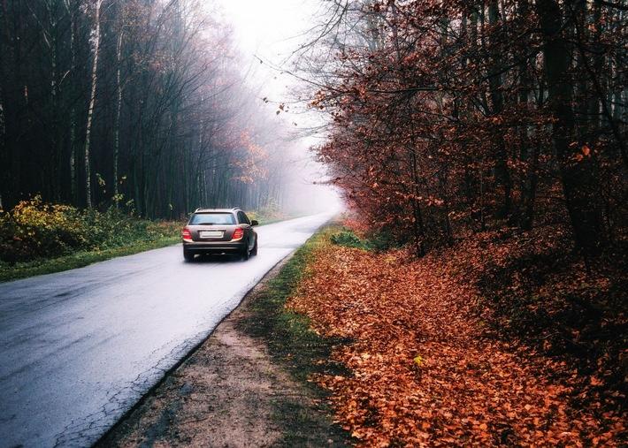 Bußgeld: So fahren Sie sicher durch den Herbst Tipps für das Autofahren bei Nebel, Dunkelheit und Regen