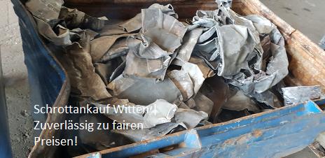 Schrott und Altmetall entsorgen beim Schrottankauf in Witten