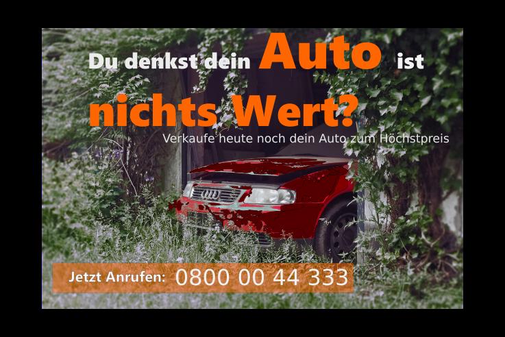 Auto mit Motorschaden verkaufen