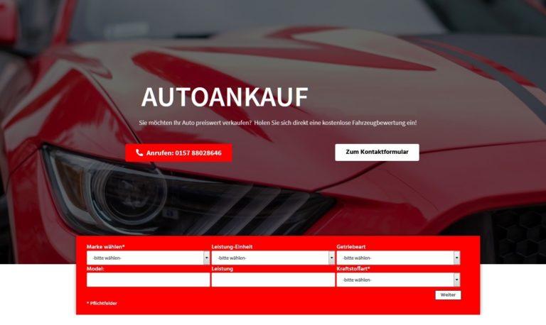 Autoankauf Gebrauchtwagenankauf Jena! Ankauf jeglicher KFZ-Modelle