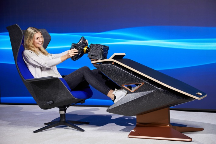 Sedus und BMW Motorsport präsentieren innovatives SIM-Racing-Rig