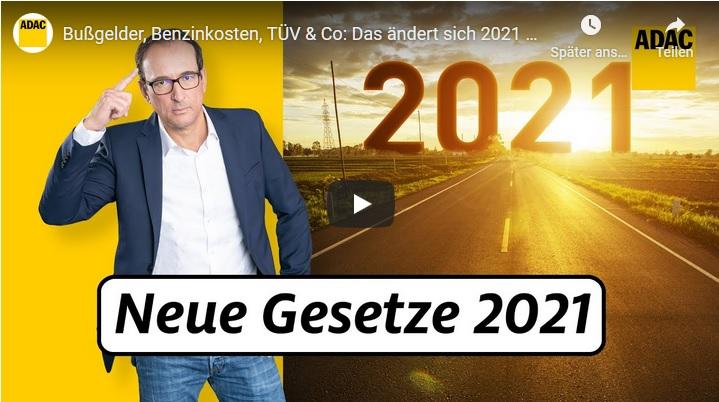 Teurer Sprit, neue Zulassungsnormen und härtere Strafen für Gaffer –  Das ändert sich 2021 für Autofahrer, Reisende und Co.