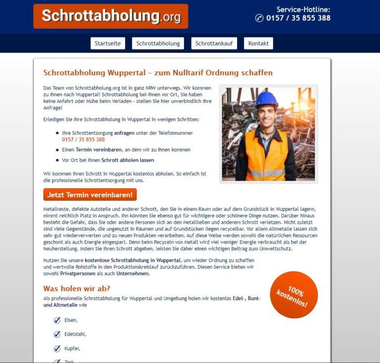Metall aller Art abholen lassen – Schrottabholung Wuppertal